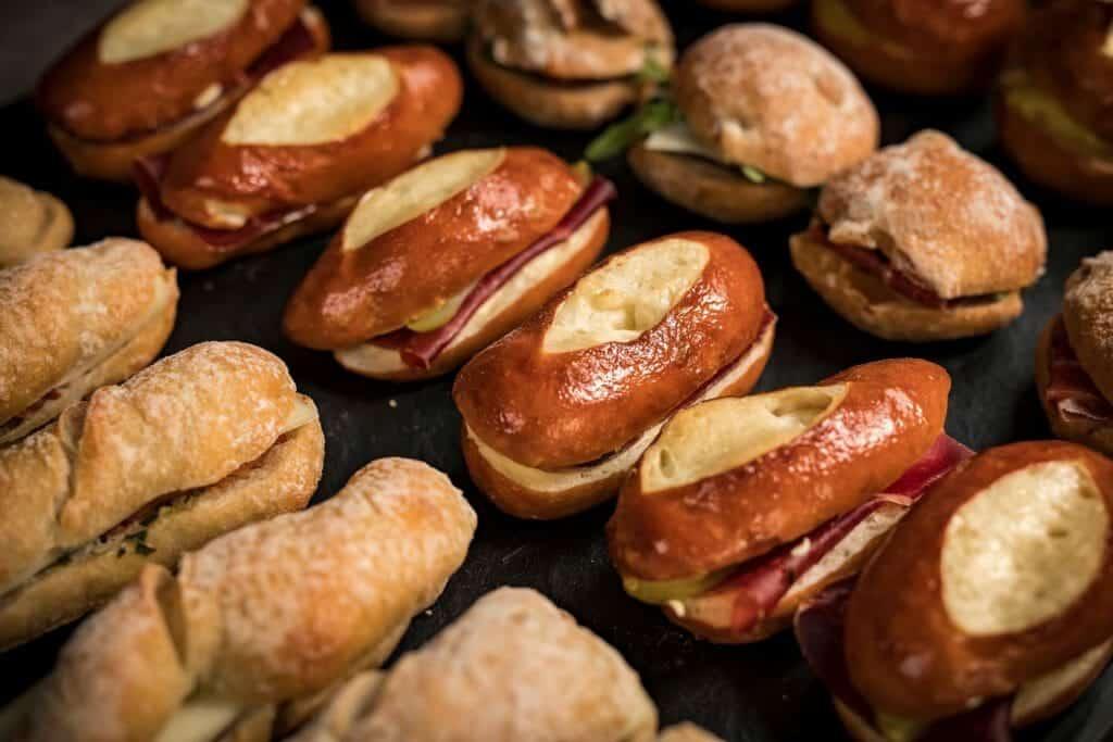 Service Traiteur MANUEL - Plateaux de sandwichs details